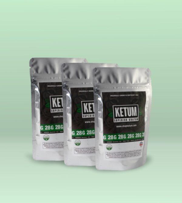 Super Green Ultra 3 Pack Kratom Powder