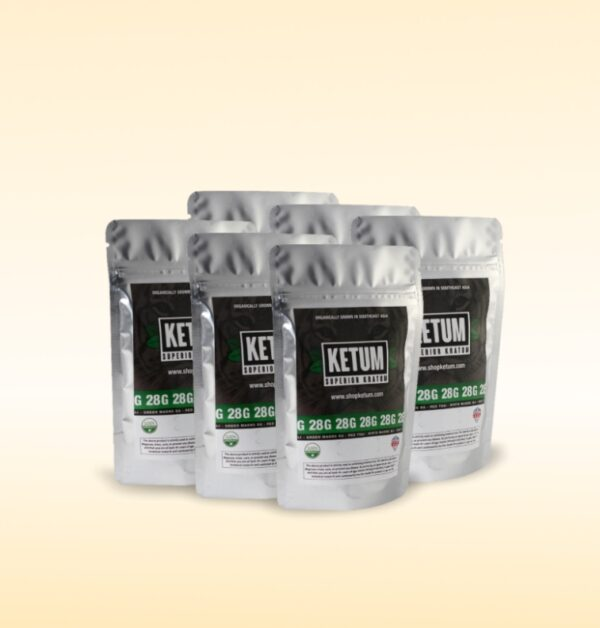 Ultra Enhanced 6 Packs  Kratom Powder