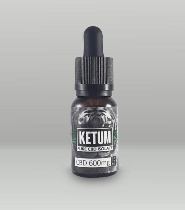 Ketum 15ml Pure CBD Oil Tincture – 600mg