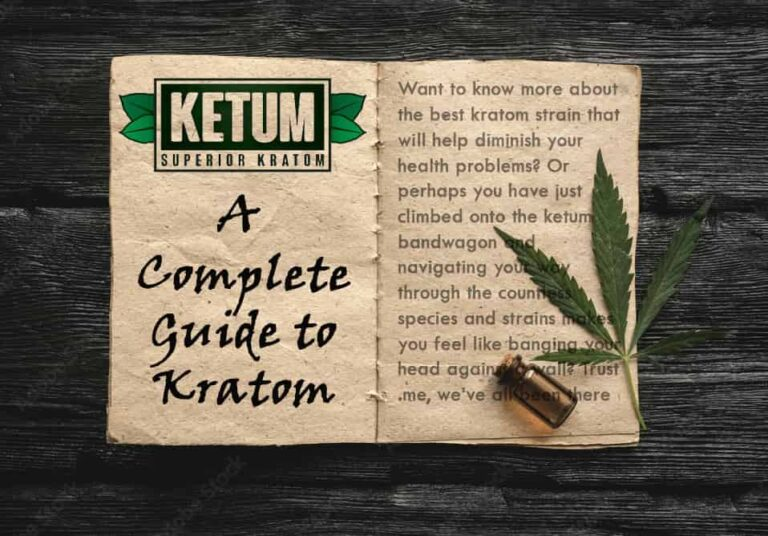A Definitive Guide to Kratom Strains