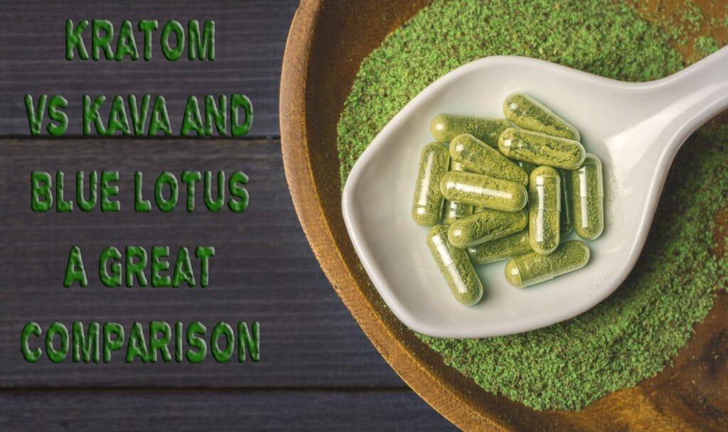 Kratom vs Kava and Blue Lotus a Great Comparison